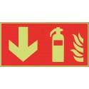 Feuerlöscher unten - F001