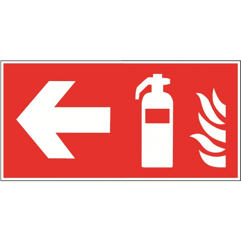 Feuerlöscher links - F001