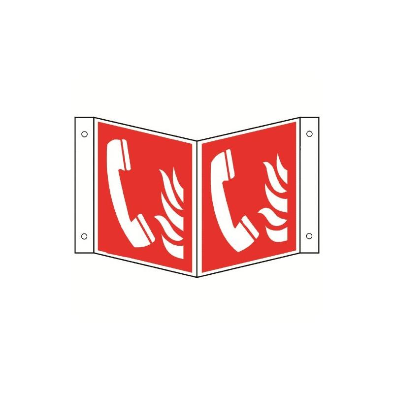Nasenschild: Brandmeldetelefon - F006