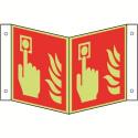 Nasenschild: Brandmelder - F005