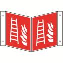 Nasenschild: Feuerleiter - F003