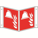 Nasenschild: Mittel und Geräte zur Brandbekämpfung - F004