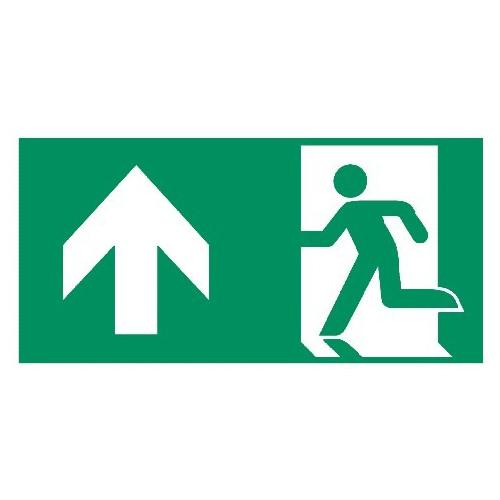 Rettungsweg geradeaus - E001