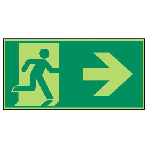 Rettungsweg rechts - E002