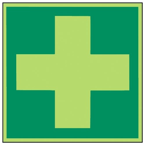 Hinweis auf Erste Hilfe - E003