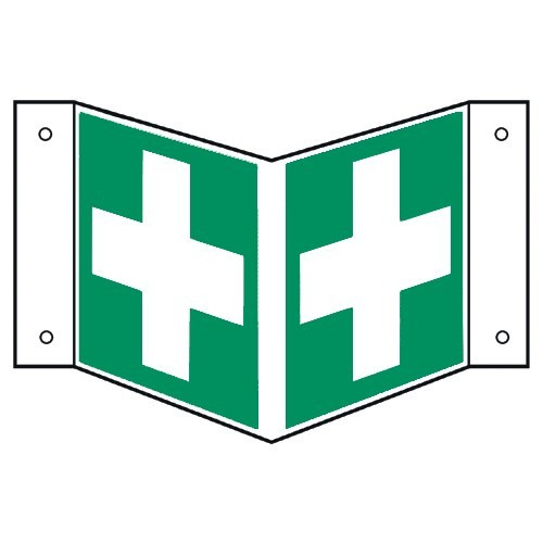 Nasenschild: Hinweis auf Erste Hilfe - E003