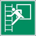 Notausstieg mit Fluchtleiter - E016