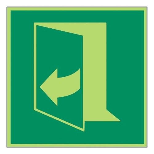 Öffnung durch Ziehen rechts - DIN EN ISO 7010 - E058