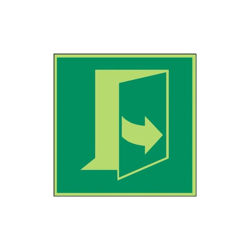 Öffnung durch Ziehen links - DIN EN ISO 7010 - E057