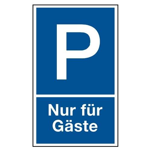 """Parkplatzschild """"Nur für Gäste"""""""