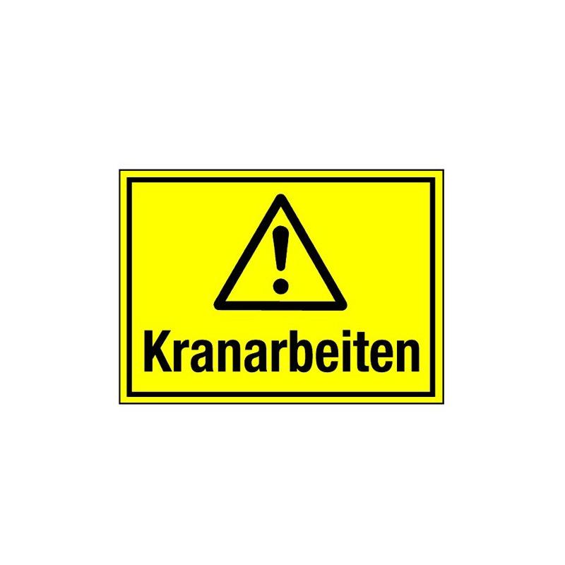 Kranarbeiten (mit Symbol W001)