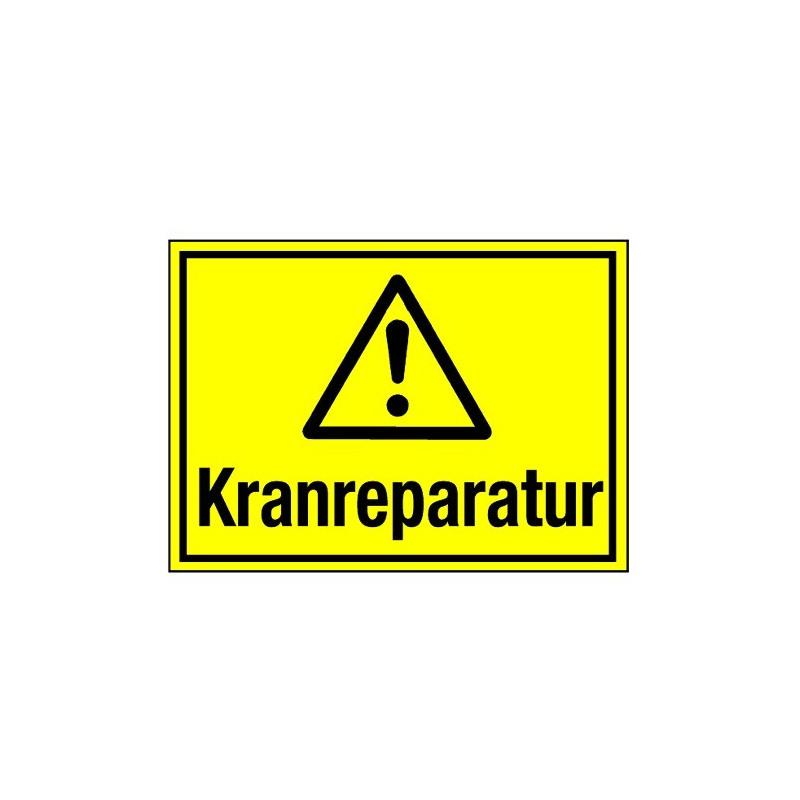 Kranreparatur (mit Symbol W001)