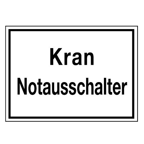 Kran Notausschalter