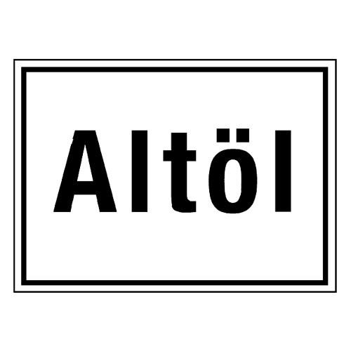 Altöl