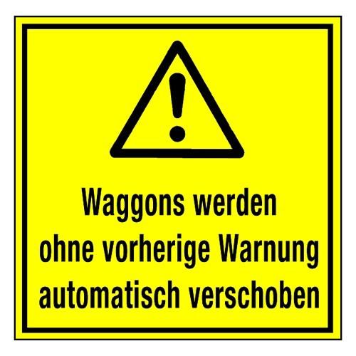 Waggons werden ohne vorherige Warnung automatisch verschoben (mit Symbol W001)