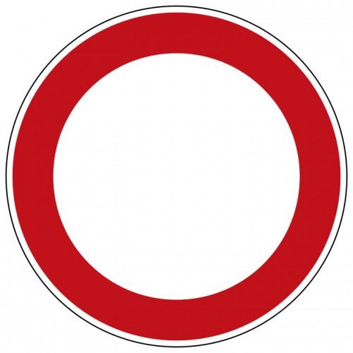 Verbot für Fahrzeuge aller Art - 250