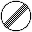 Ende sämtlicher streckenbezogener Geschwindigkeits- beschränkungen und Überholverbote - 282
