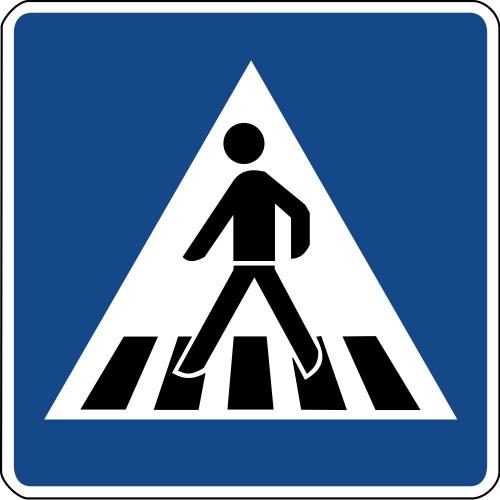 Fußgängerüberweg - 350