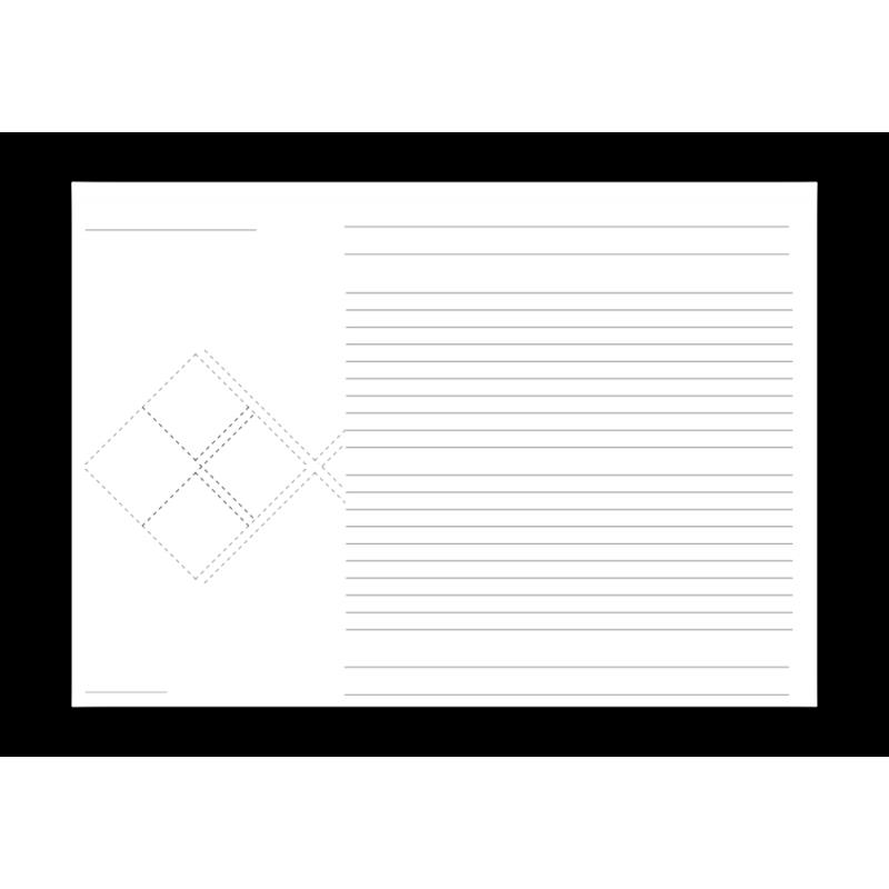 """Grundetikett """"universell"""" für 1 bis 4 Piktogramme"""