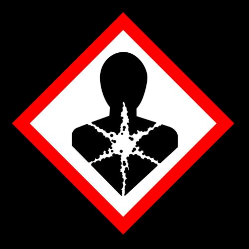 """Gefahrstoff-Piktogramm """"Gesundheitsgefahr"""" GHS08"""