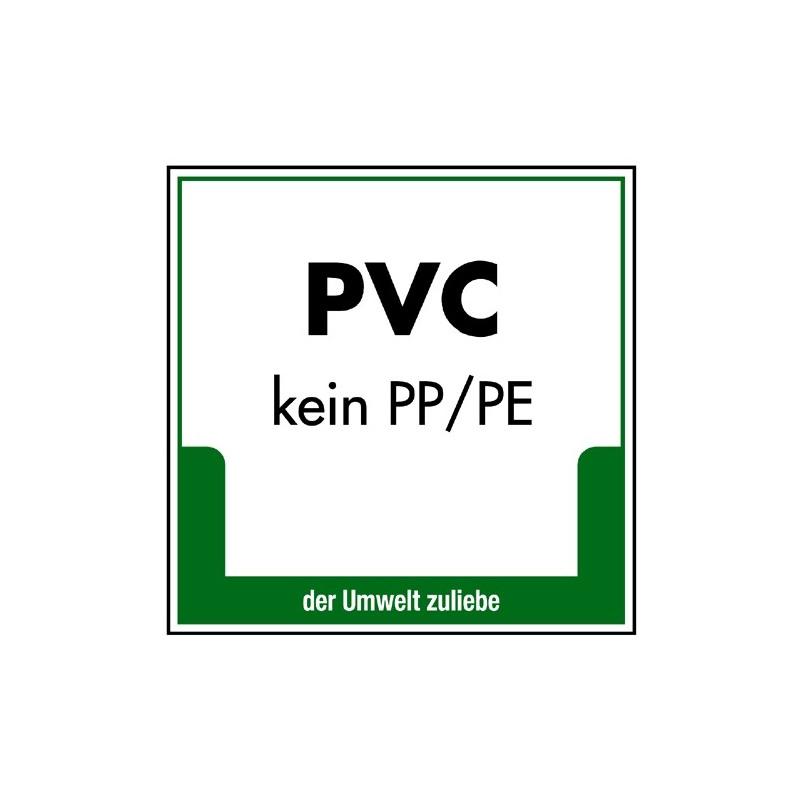 PVC (kein PP/PE)