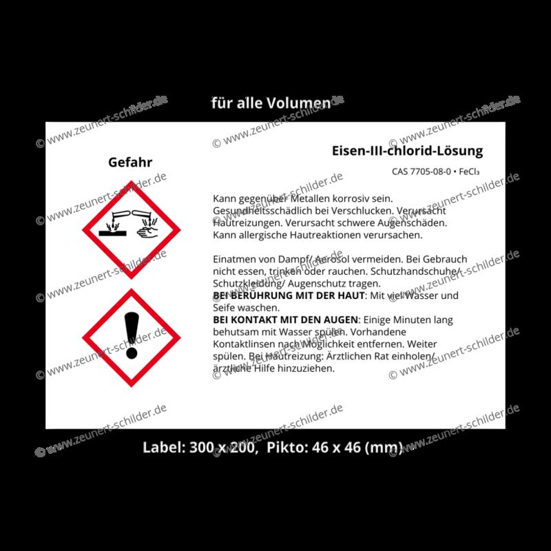 Eisen-III-chlorid-Lösung, CAS 7705-08-0