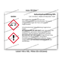 Kaliumhydroxidlösung 50%, CAS 1310-58-3