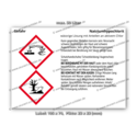 Natriumhypochlorit, wässrige Lösung mit Anteilen an aktivem Chlor, CAS 7681-52-9