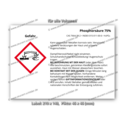 Phosphorsäure 75%, CAS 7664-38-2