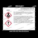 Formaldehyd 1% – unter 5%, CAS 50-00-0