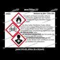 Methanol ab 20% – unter 55%, CAS 67-56-1