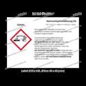 Natriumhydroxidlösung 5%, CAS 1310-73-2