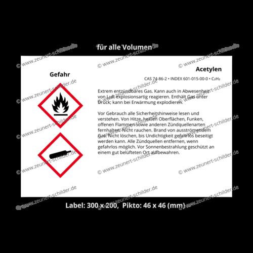 Acetylen, CAS 74-86-2