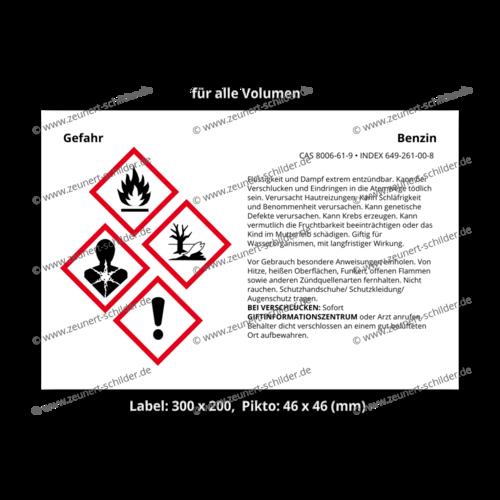 Benzin, CAS 8006-61-9