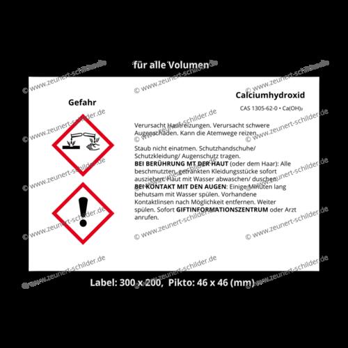 Calciumhydroxid, CAS 1305-62-0