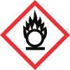GHS03 Flamme über einem Kreis