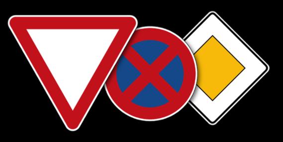 Straßenverkehrsschilder nach StVO