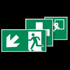 Rettungsschilder