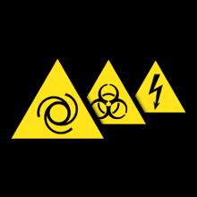 Warnschilder nach ASR A1.3, DIN EN ISO 7010